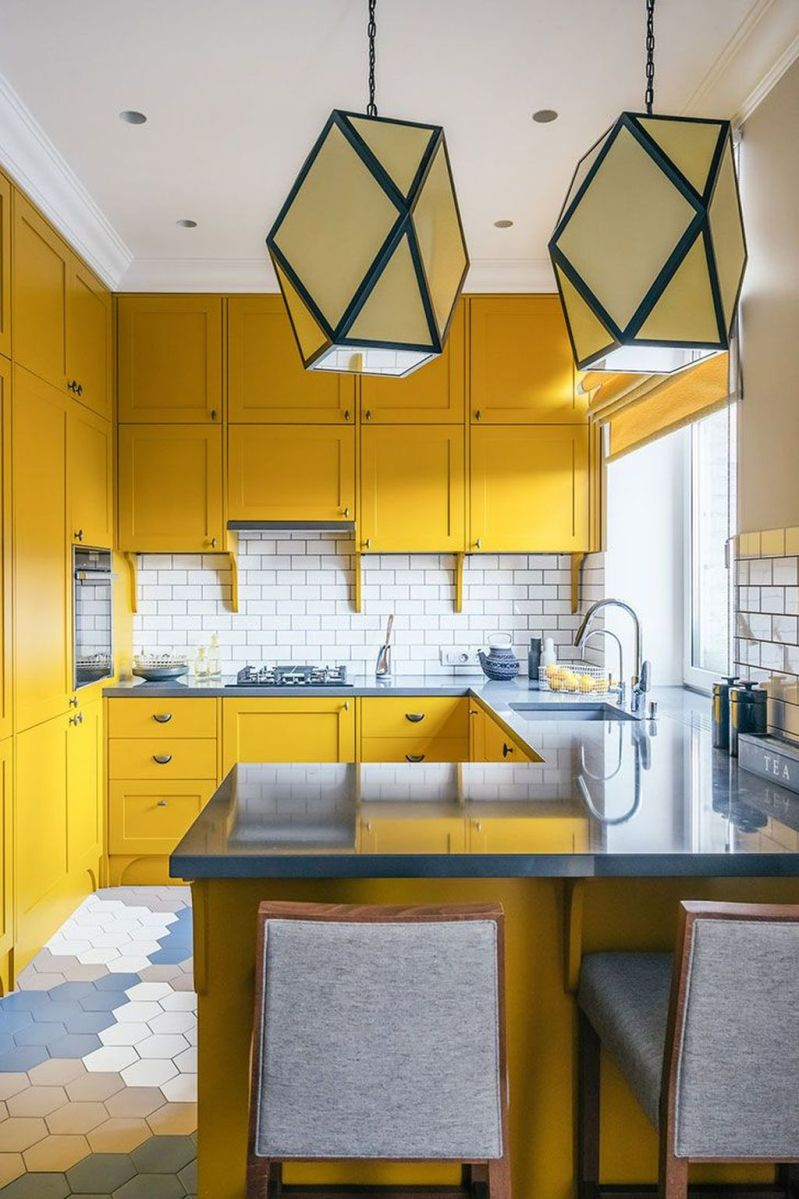 Nice Yellow Kitchen Decor Ideas For This Summer 17