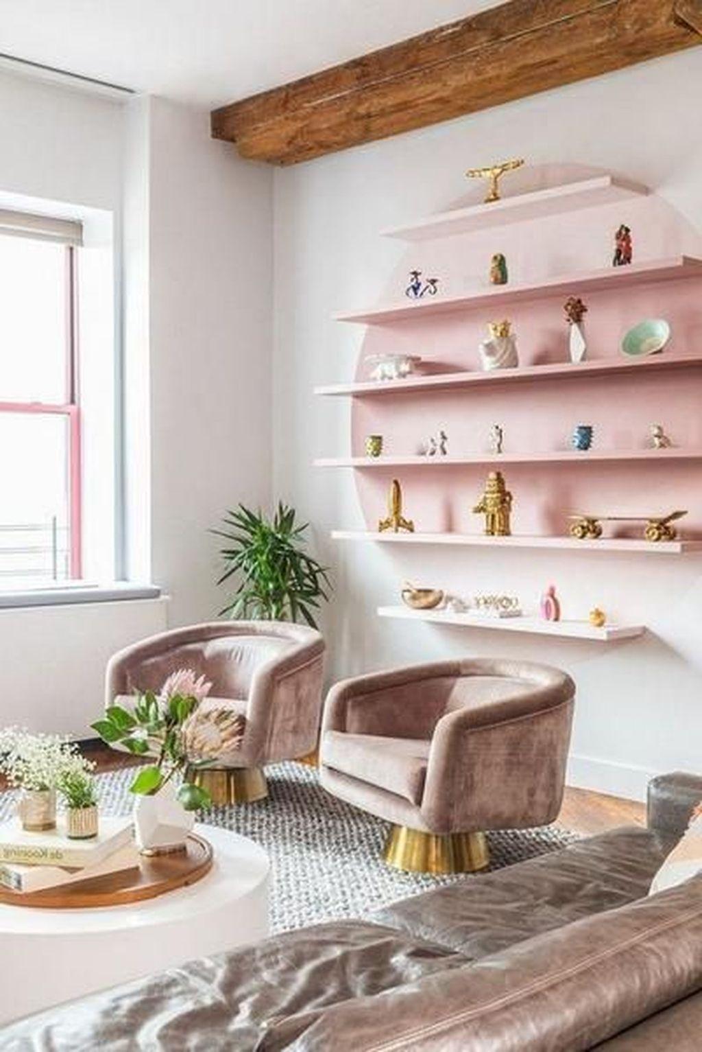 Popular Spring Living Room Decor Ideas 19