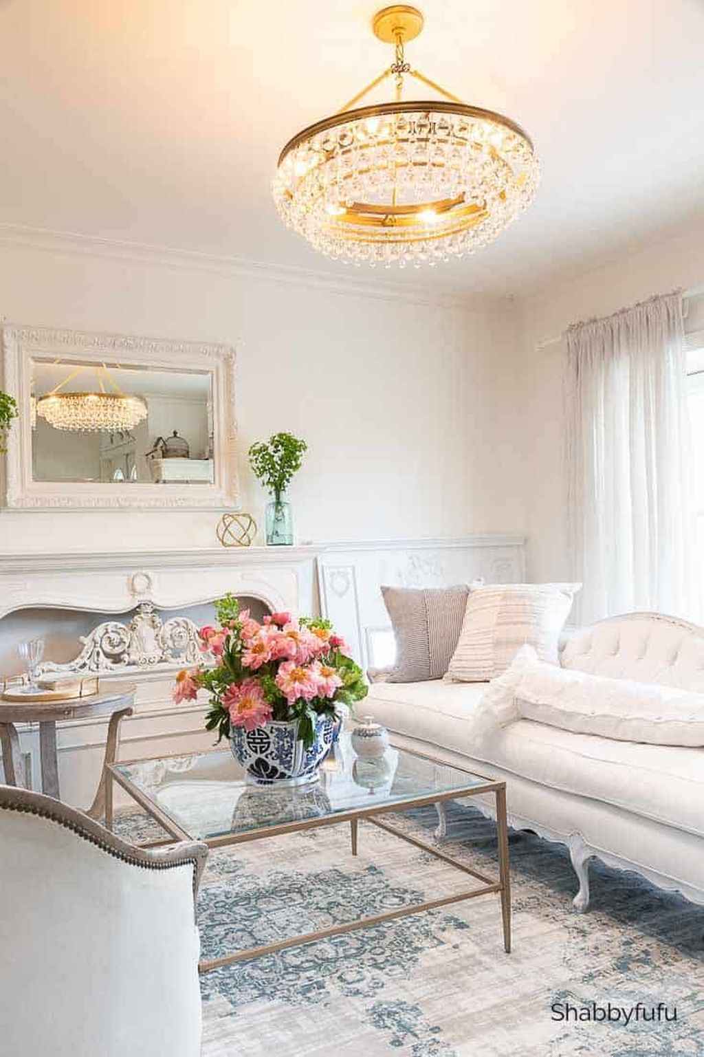 Popular Spring Living Room Decor Ideas 22