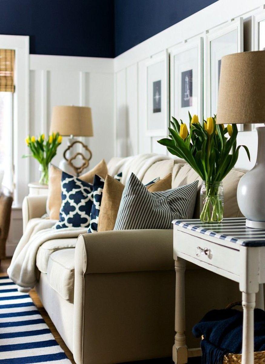 Popular Spring Living Room Decor Ideas 24