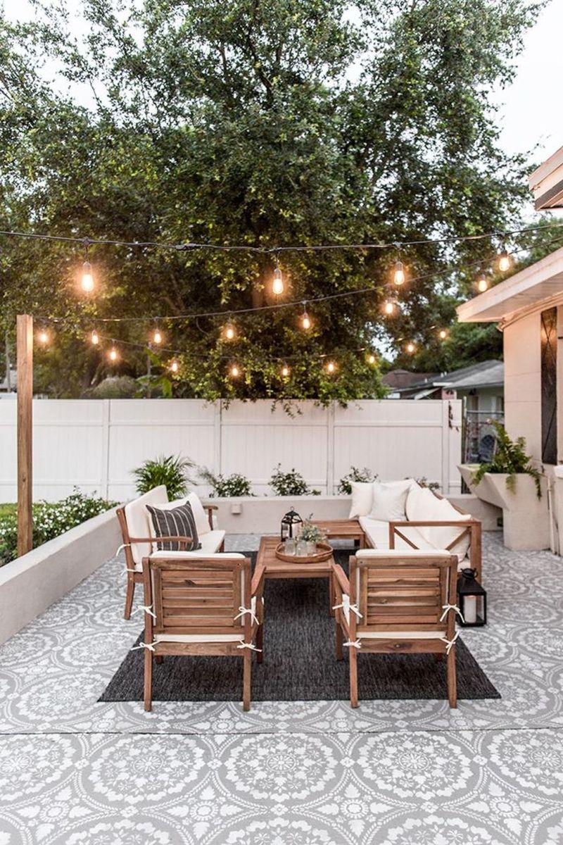Wonderful Backyard Patio Designs Ideas Perfect For Summertime 01
