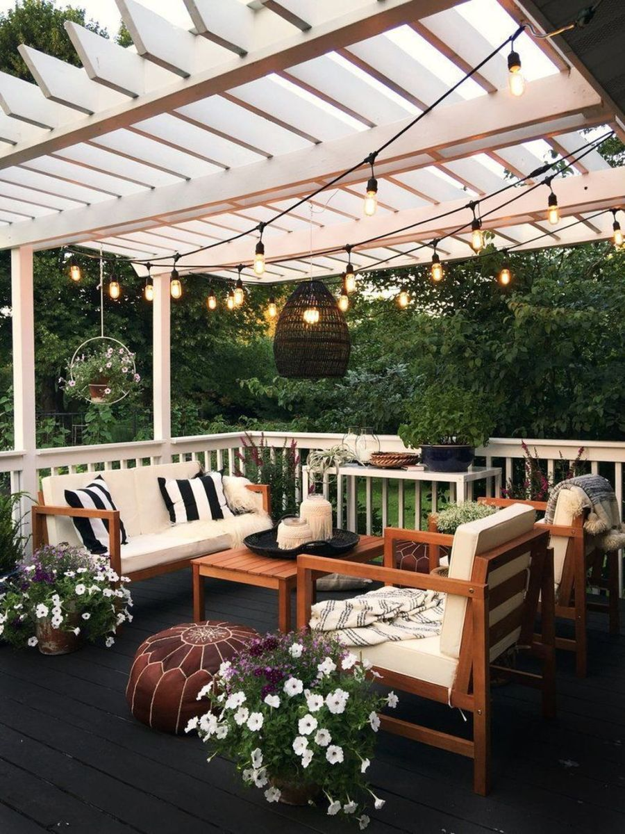 Wonderful Backyard Patio Designs Ideas Perfect For Summertime 21