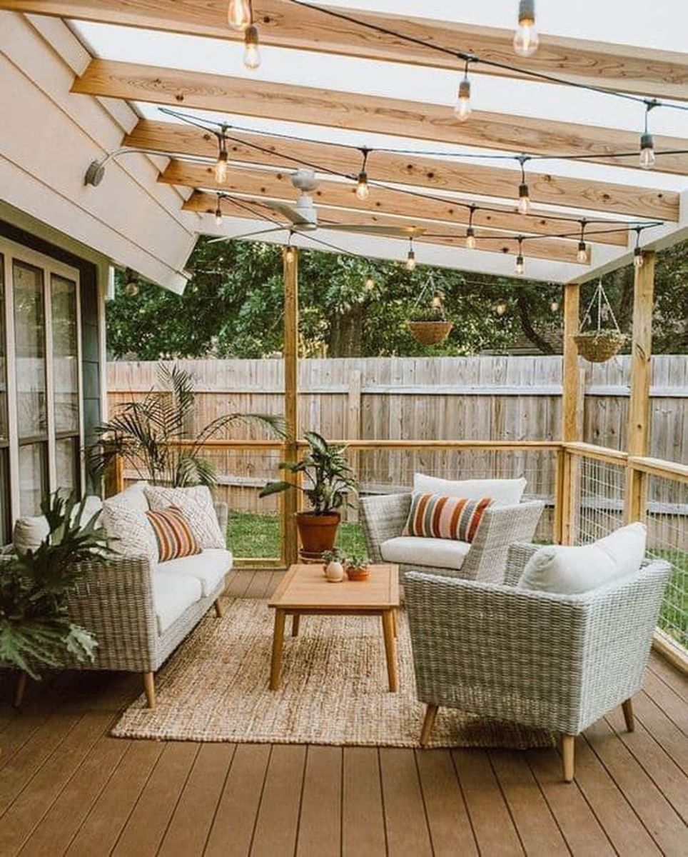 Wonderful Backyard Patio Designs Ideas Perfect For Summertime 23