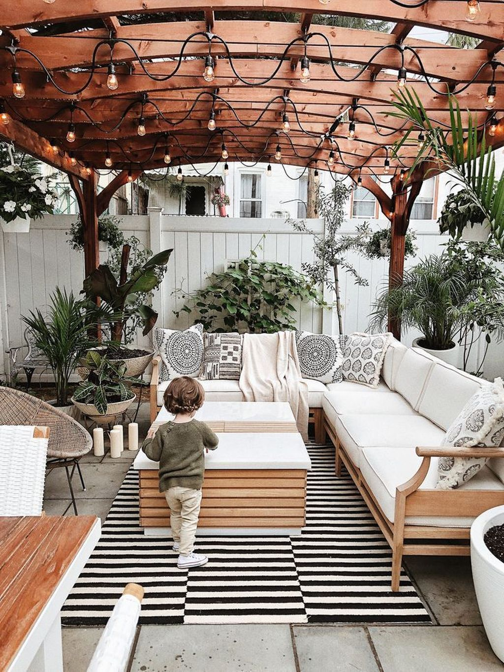 Wonderful Backyard Patio Designs Ideas Perfect For Summertime 32