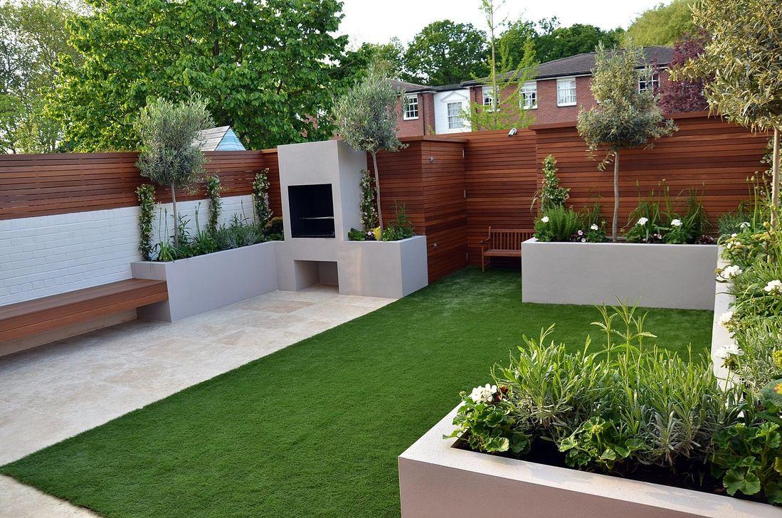 Wonderful Modern Garden Design Ideas 15 1