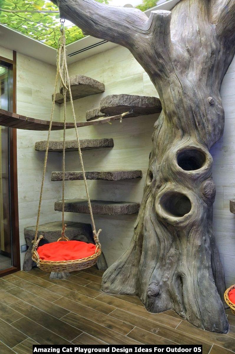 Amazing Cat Playground Design Ideas For Outdoor 05