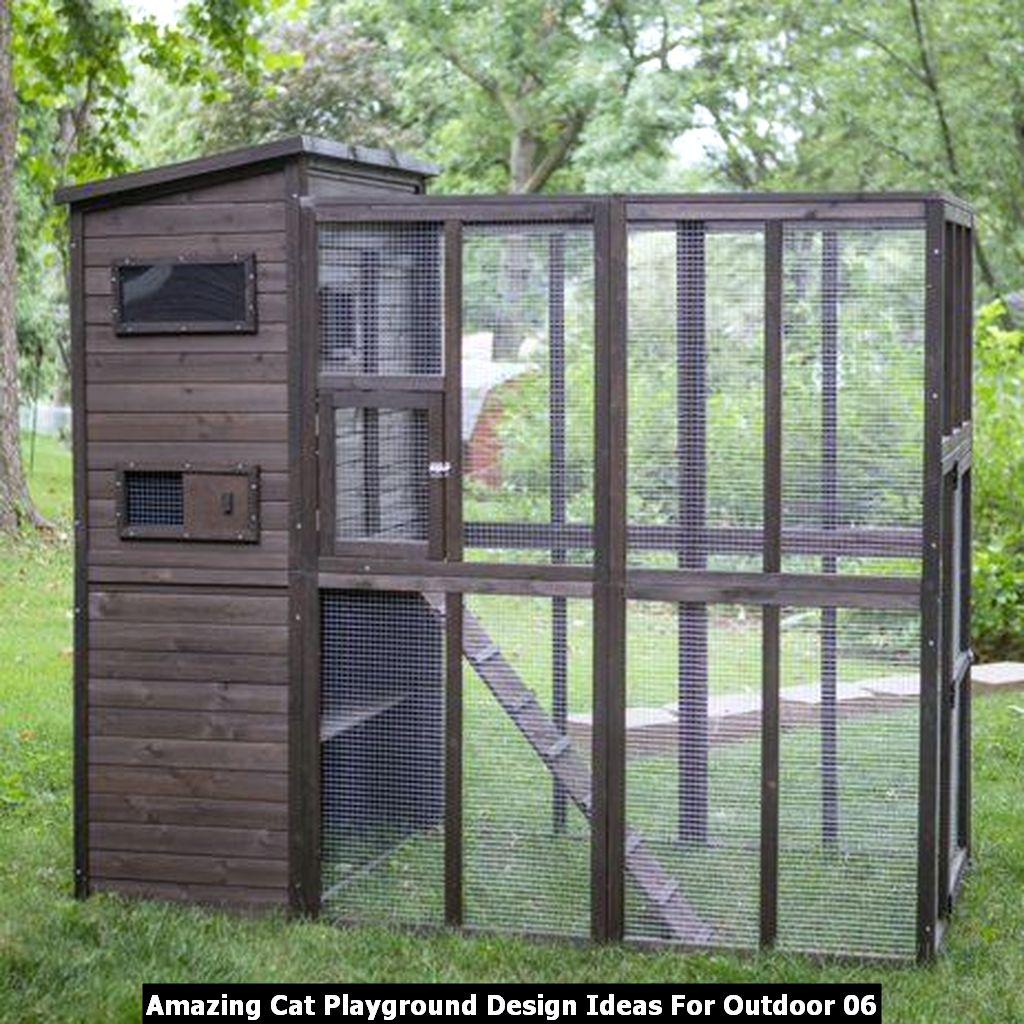 Amazing Cat Playground Design Ideas For Outdoor 06