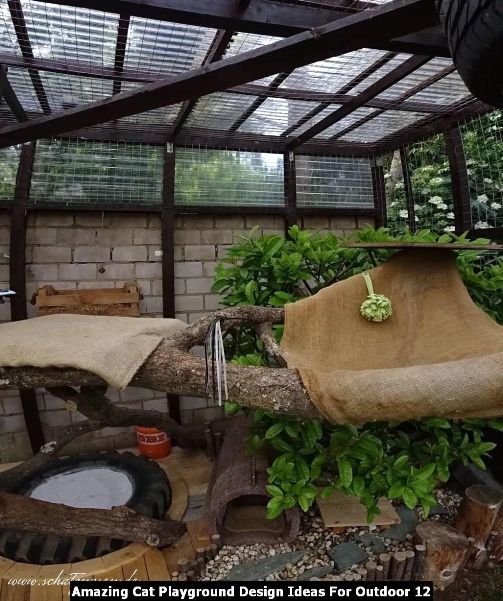 Amazing Cat Playground Design Ideas For Outdoor 12
