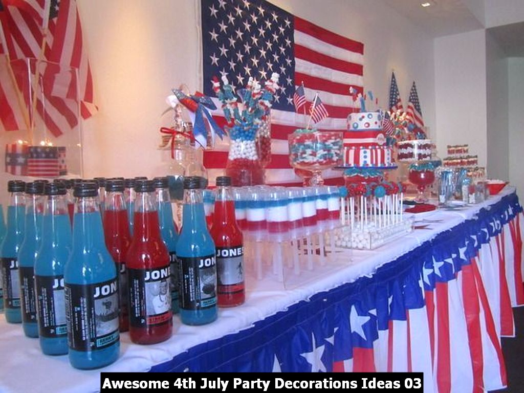 Awesome 4th July Party Decorations Ideas 03