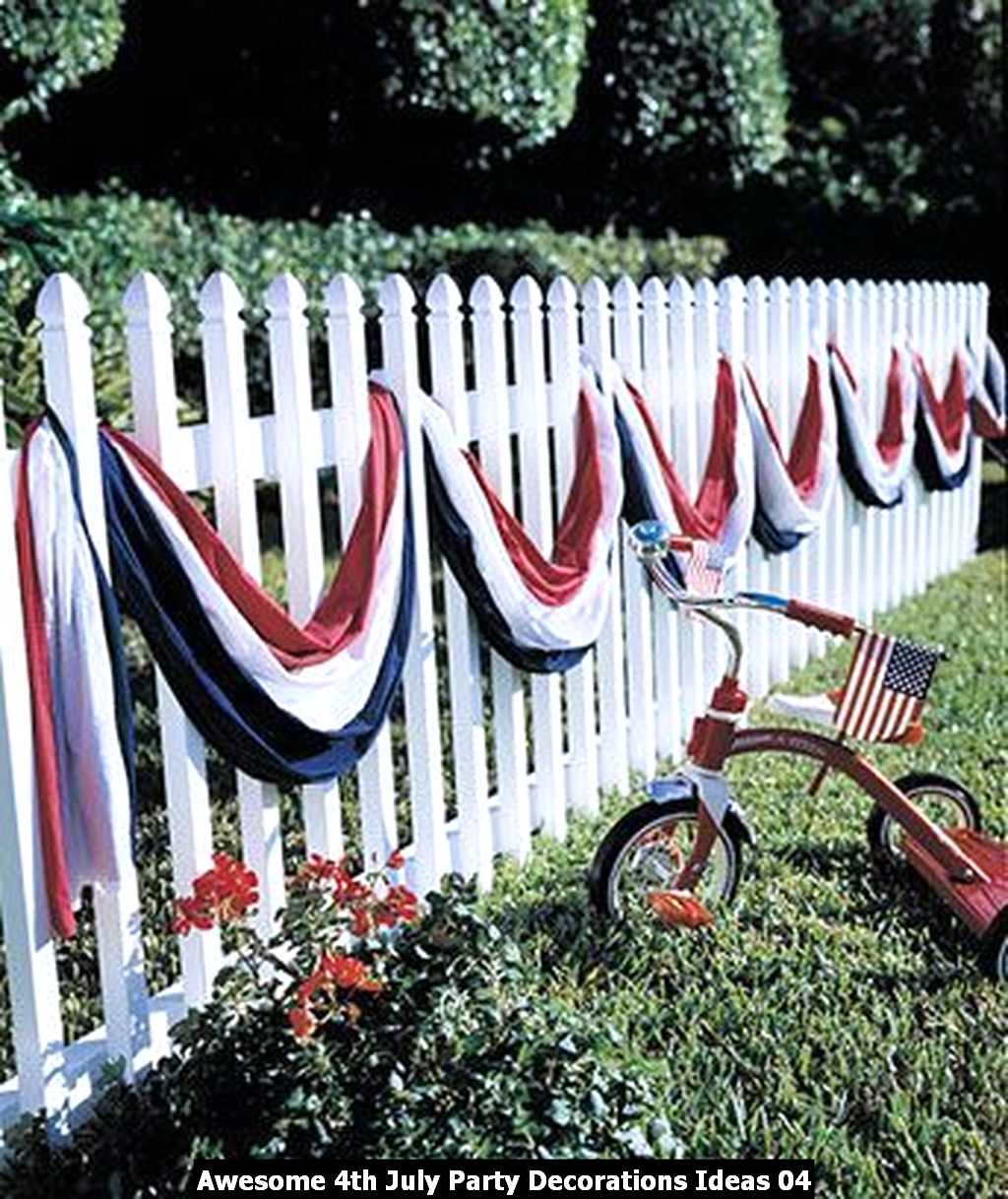Awesome 4th July Party Decorations Ideas 04
