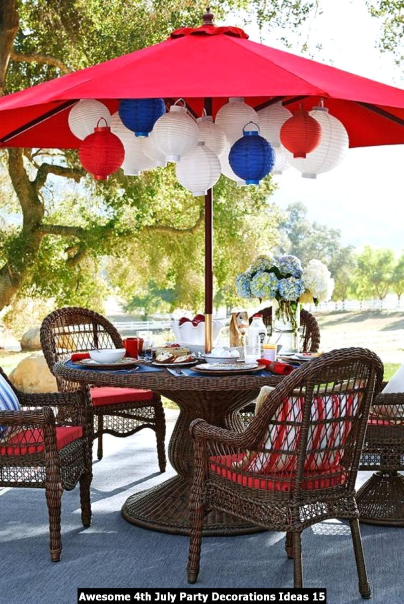 Awesome 4th July Party Decorations Ideas 15