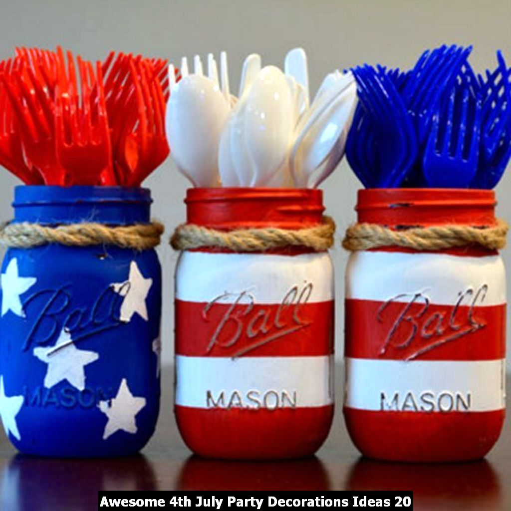Awesome 4th July Party Decorations Ideas 20