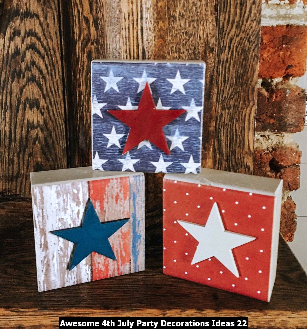 Awesome 4th July Party Decorations Ideas 22