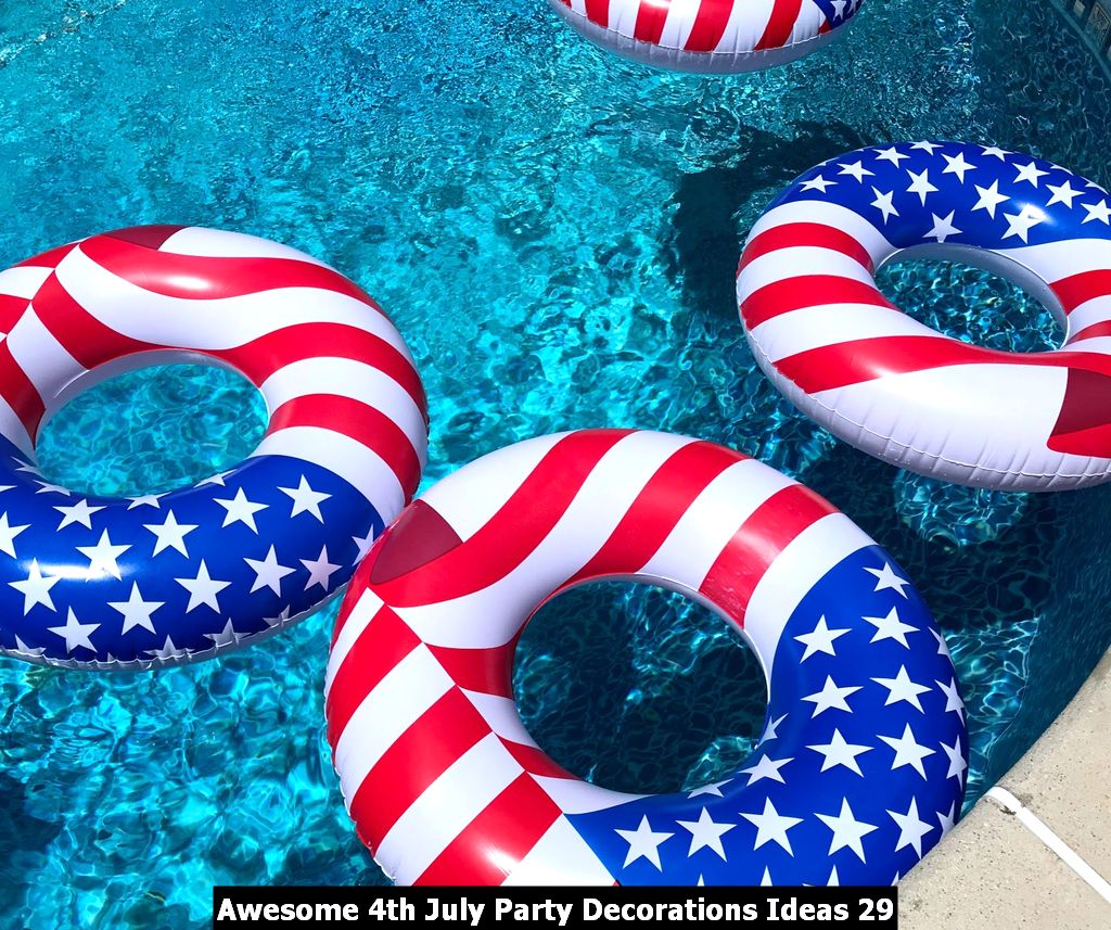 Awesome 4th July Party Decorations Ideas 29