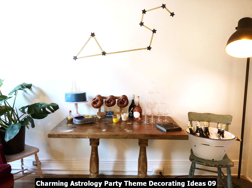Charming Astrology Party Theme Decorating Ideas 09