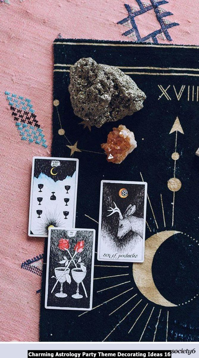 Charming Astrology Party Theme Decorating Ideas 16