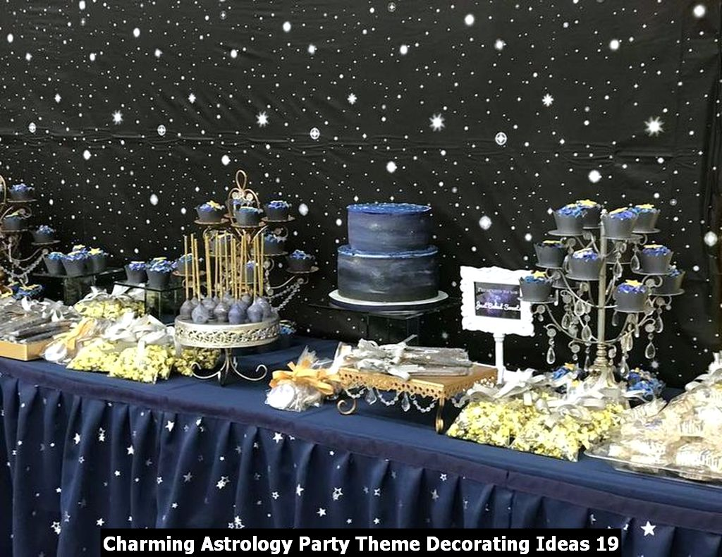 Charming Astrology Party Theme Decorating Ideas 19