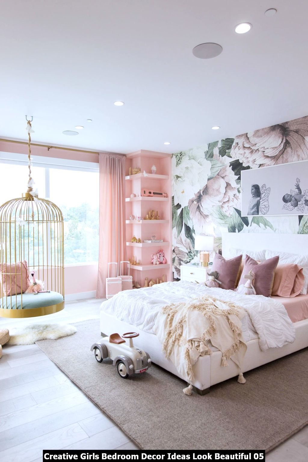 Creative Girls Bedroom Decor Ideas Look Beautiful 05