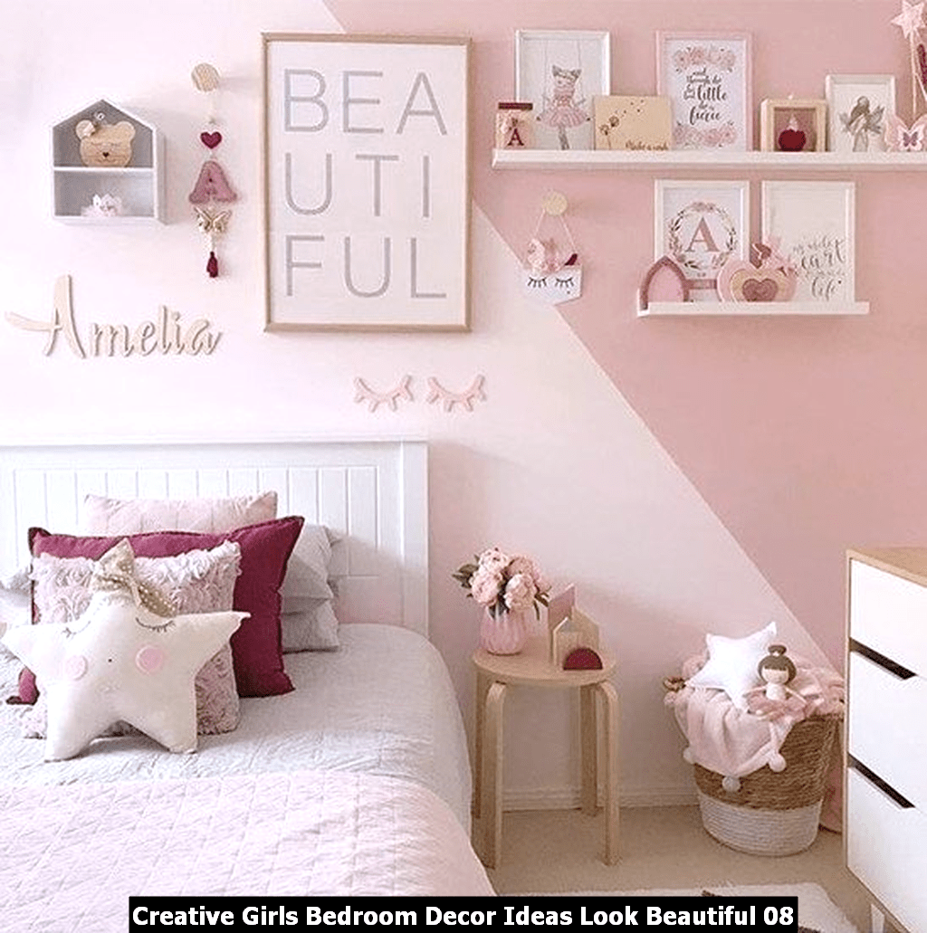 Creative Girls Bedroom Decor Ideas Look Beautiful 08