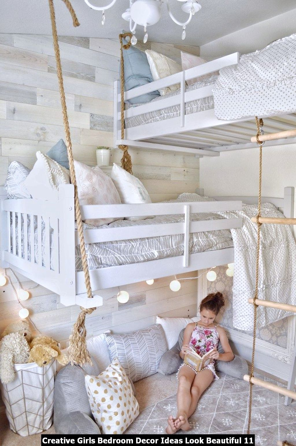 Creative Girls Bedroom Decor Ideas Look Beautiful 11