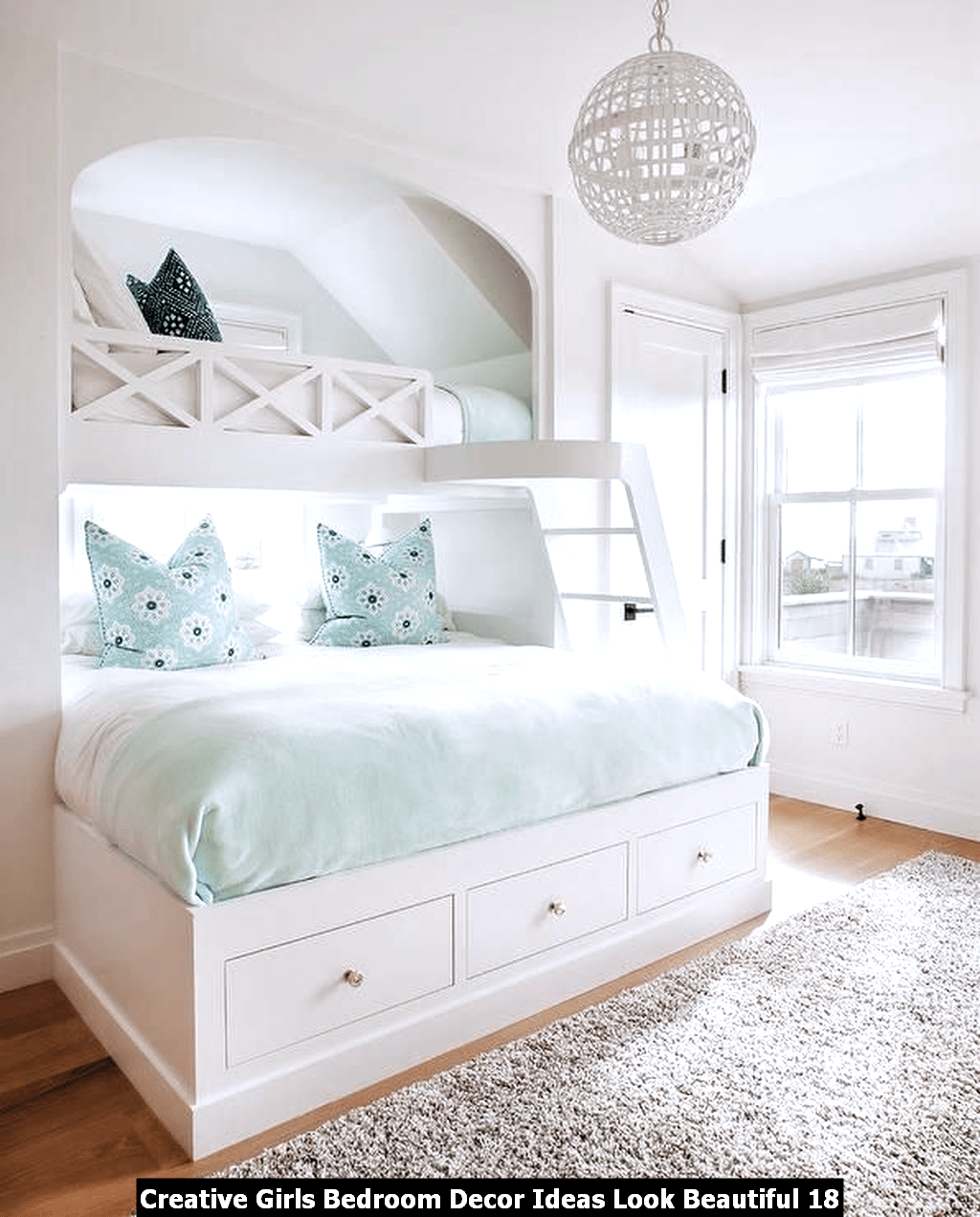 Creative Girls Bedroom Decor Ideas Look Beautiful 18