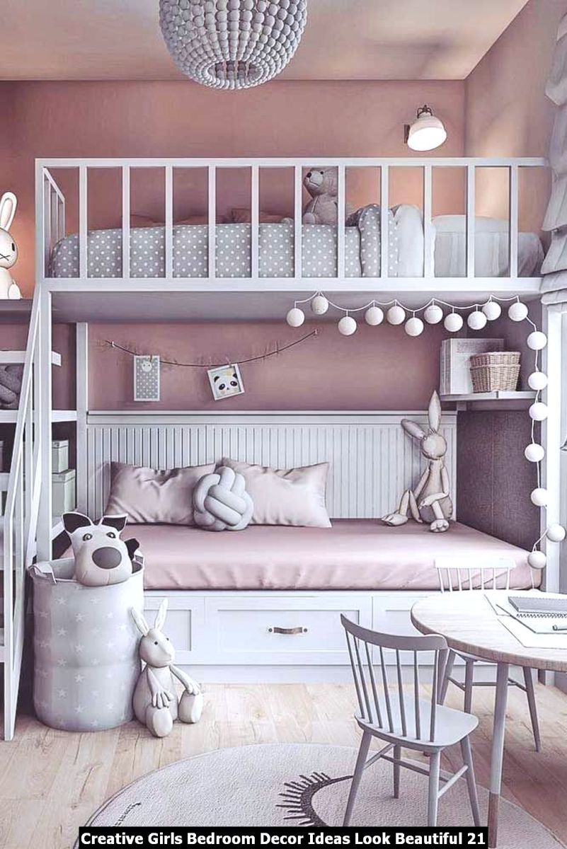 Creative Girls Bedroom Decor Ideas Look Beautiful 21