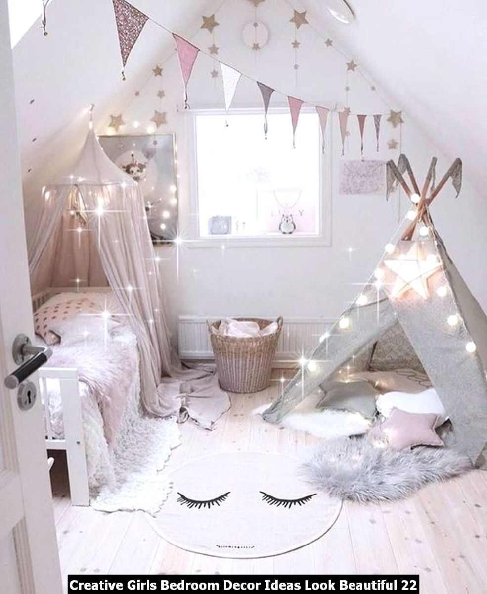 Creative Girls Bedroom Decor Ideas Look Beautiful 22