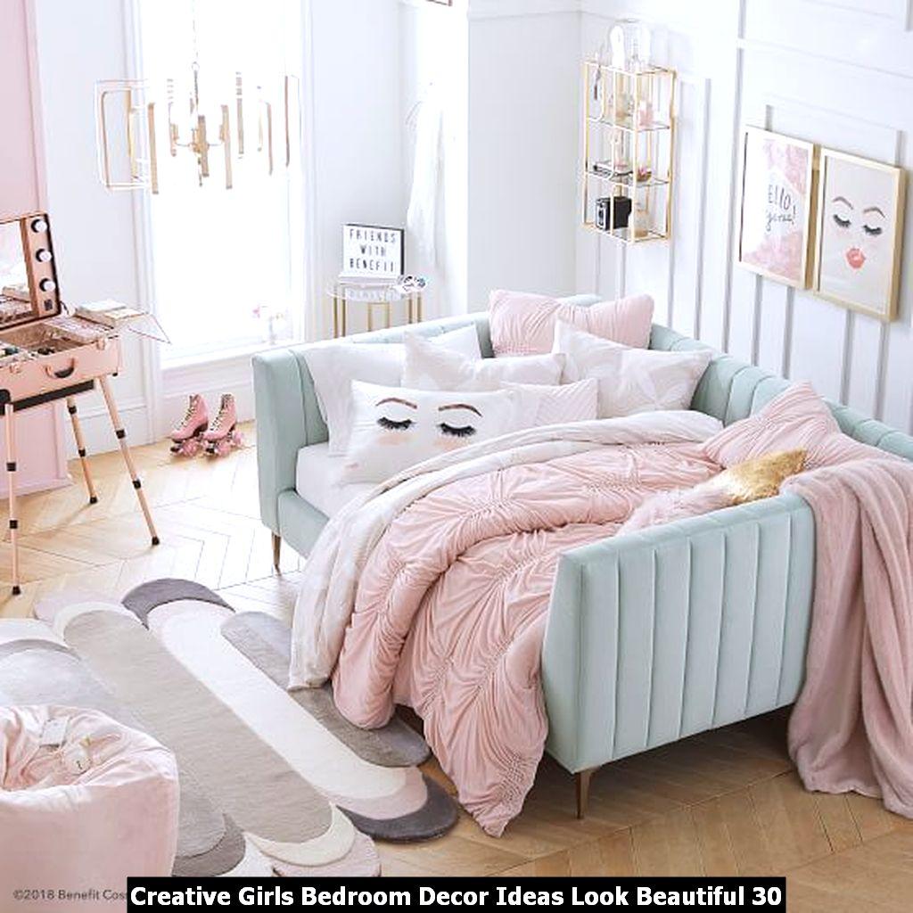 Creative Girls Bedroom Decor Ideas Look Beautiful 30