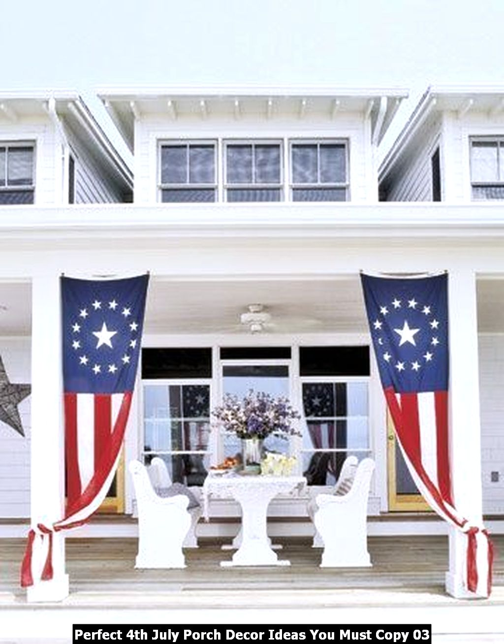 Perfect 4th July Porch Decor Ideas You Must Copy 03