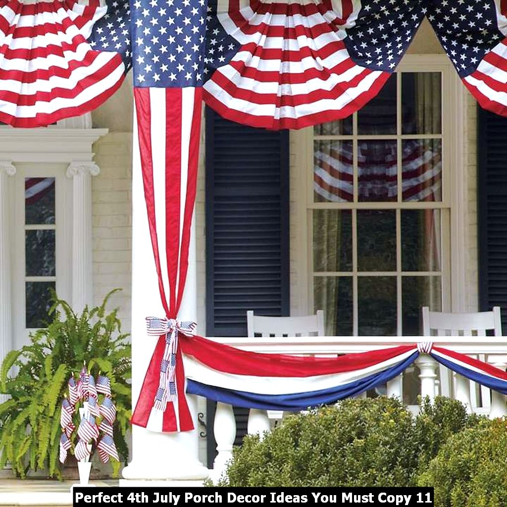 Perfect 4th July Porch Decor Ideas You Must Copy 11