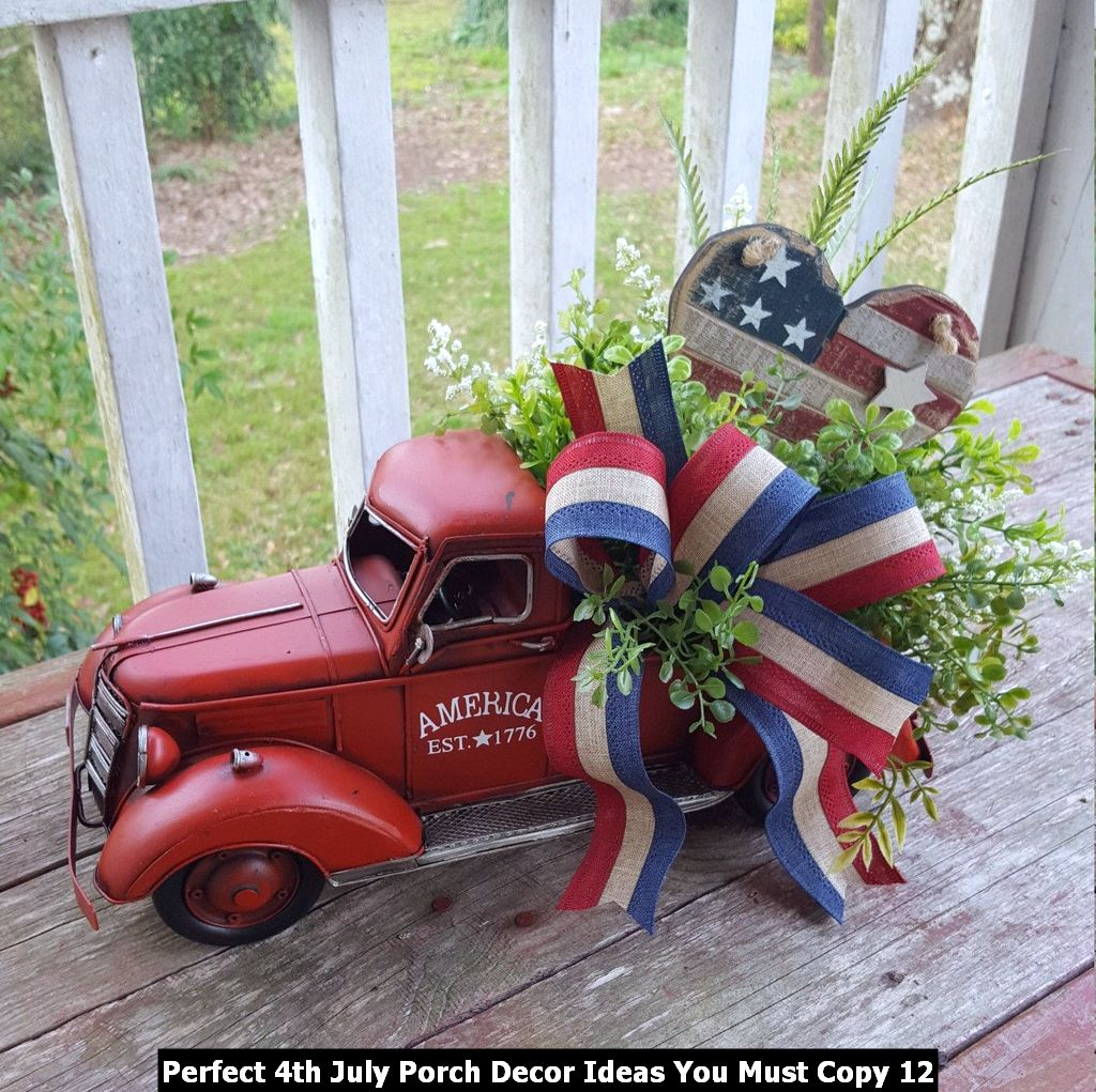 Perfect 4th July Porch Decor Ideas You Must Copy 12