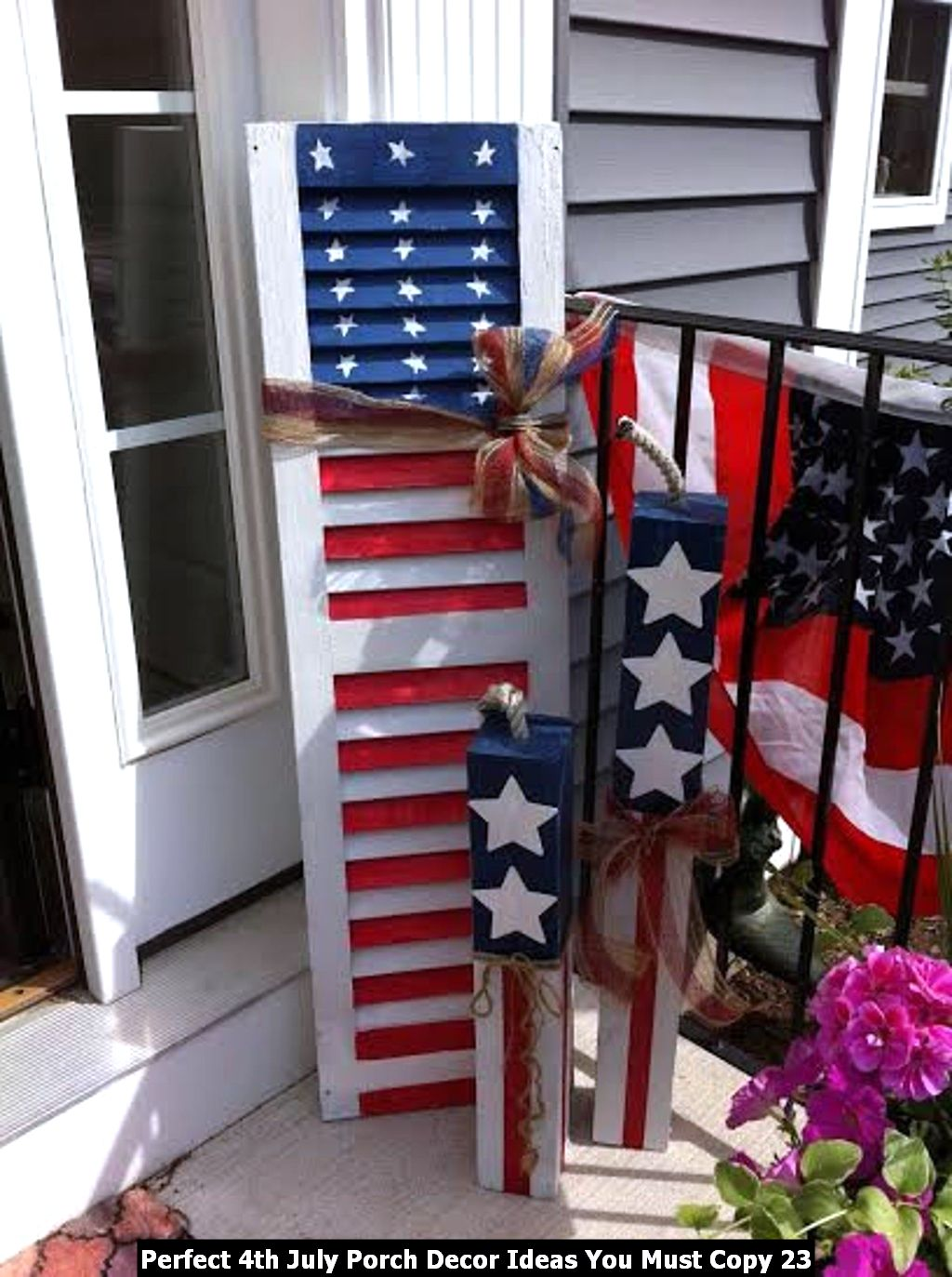 Perfect 4th July Porch Decor Ideas You Must Copy 23