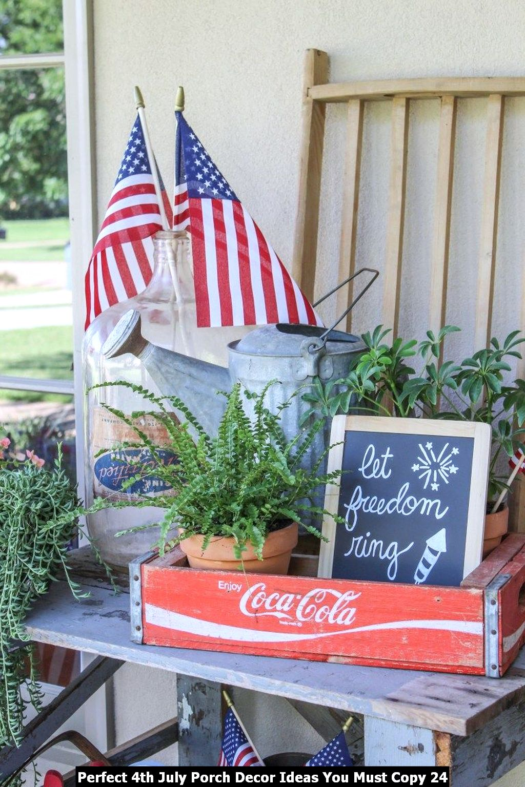 Perfect 4th July Porch Decor Ideas You Must Copy 24