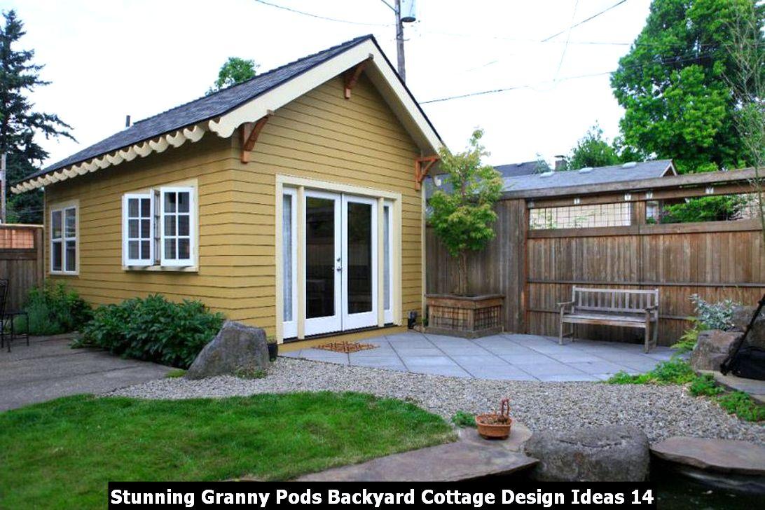 Stunning Granny Pods Backyard Cottage Design Ideas 14