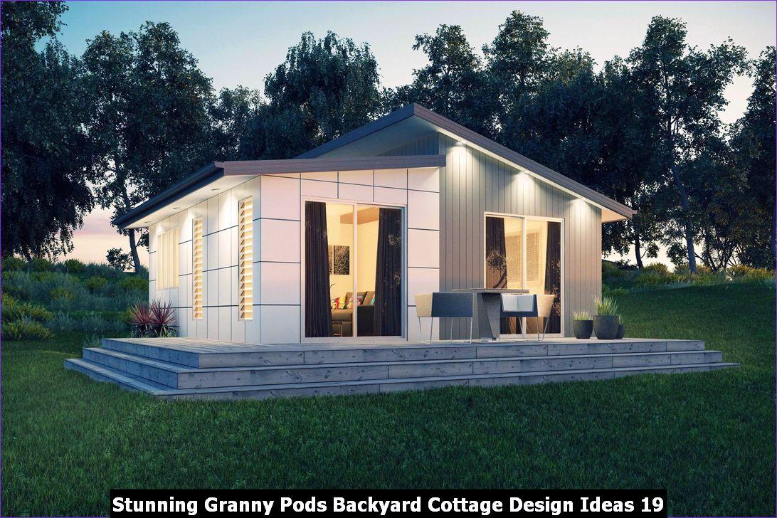 Stunning Granny Pods Backyard Cottage Design Ideas 19
