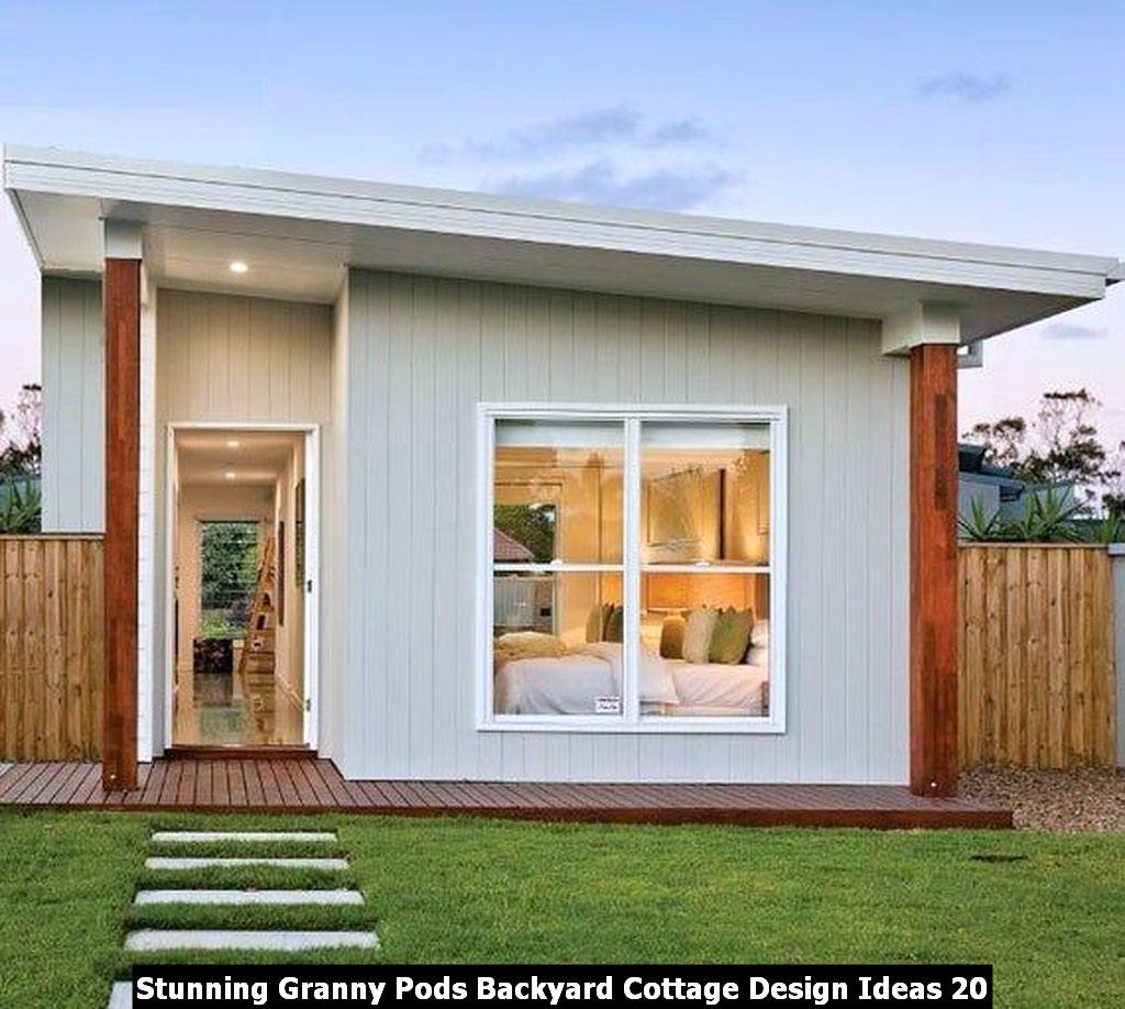 Stunning Granny Pods Backyard Cottage Design Ideas 20