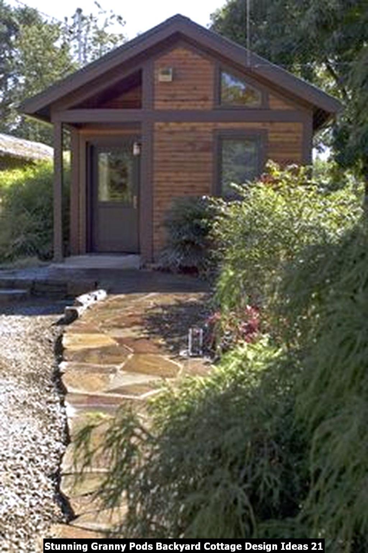 Stunning Granny Pods Backyard Cottage Design Ideas 21