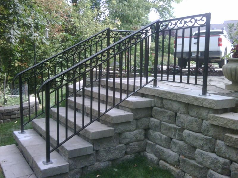 Outdoor Railings For Steps