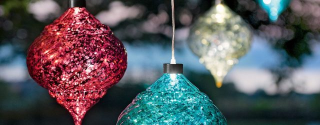 Solar Outdoor Christmas Decorations