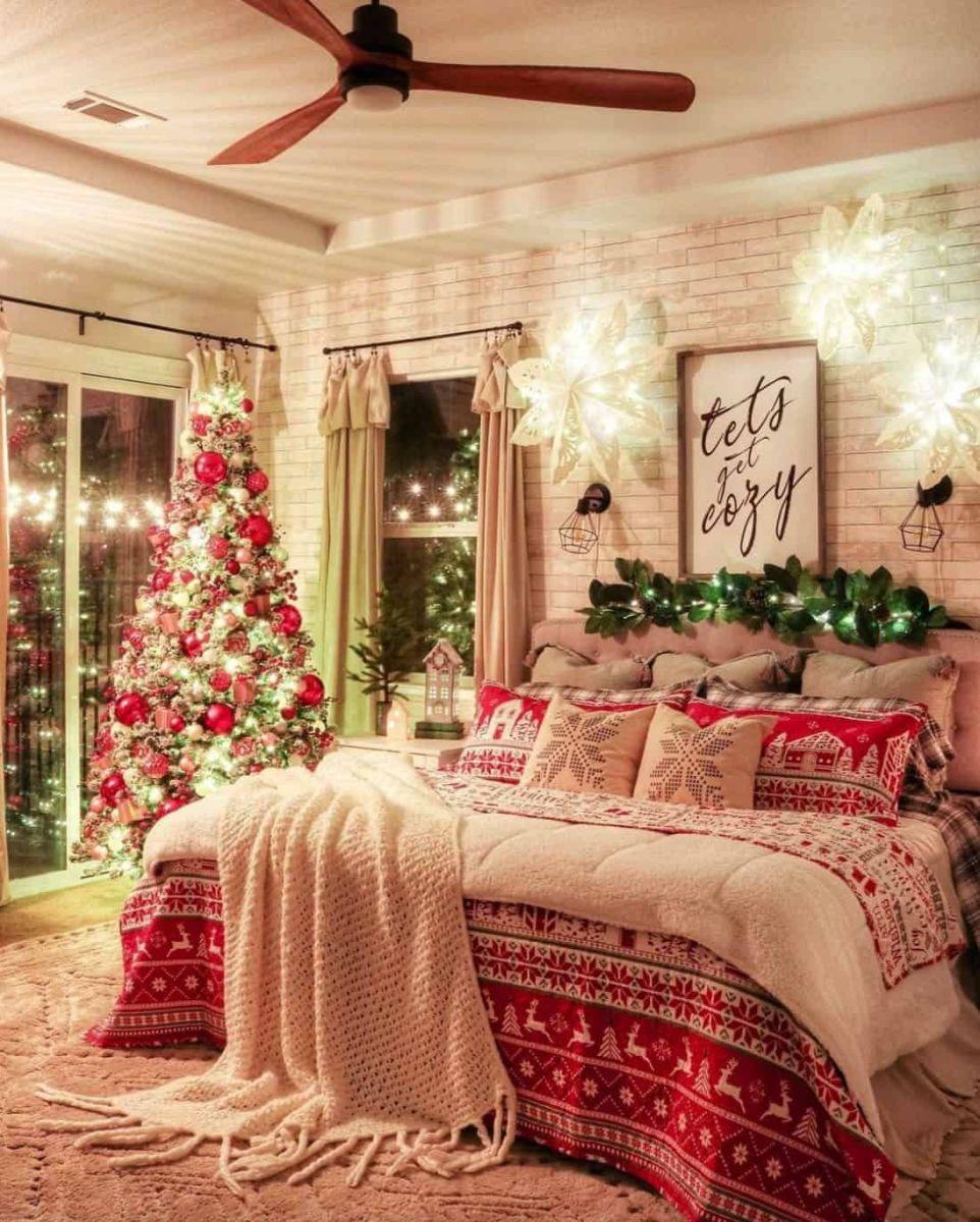 Christmas Bedroom Decor DIY
