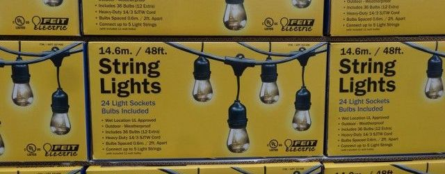 Outdoor String Lights Costco
