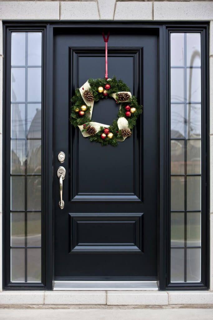 Black Exterior Doors