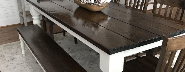 Farmhouse Kitchen Table Sets