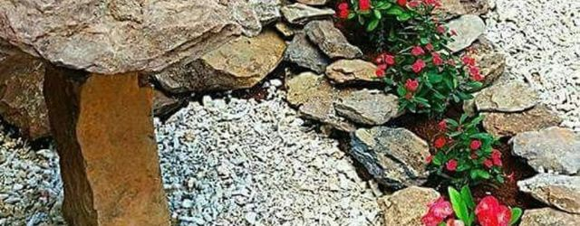 Simple Rock Garden Ideas