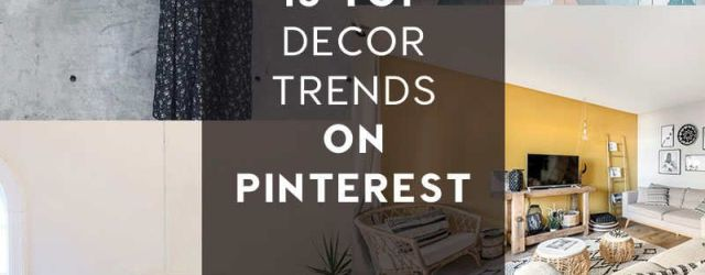 Home Decor Trends 2020
