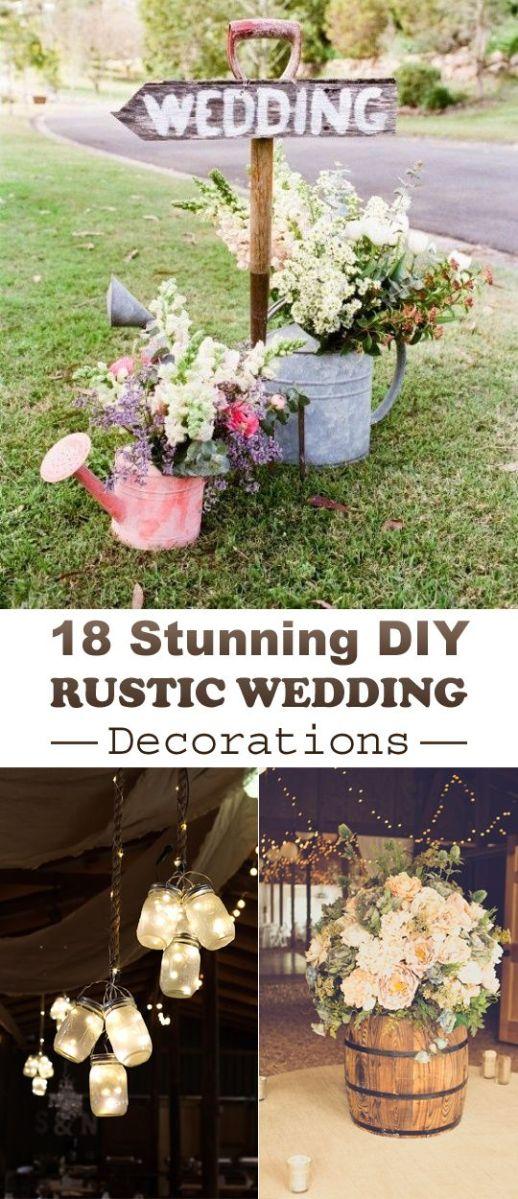 DIY Rustic Wedding Decor