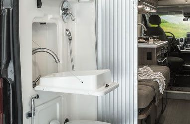 Camper Van With Bathroom