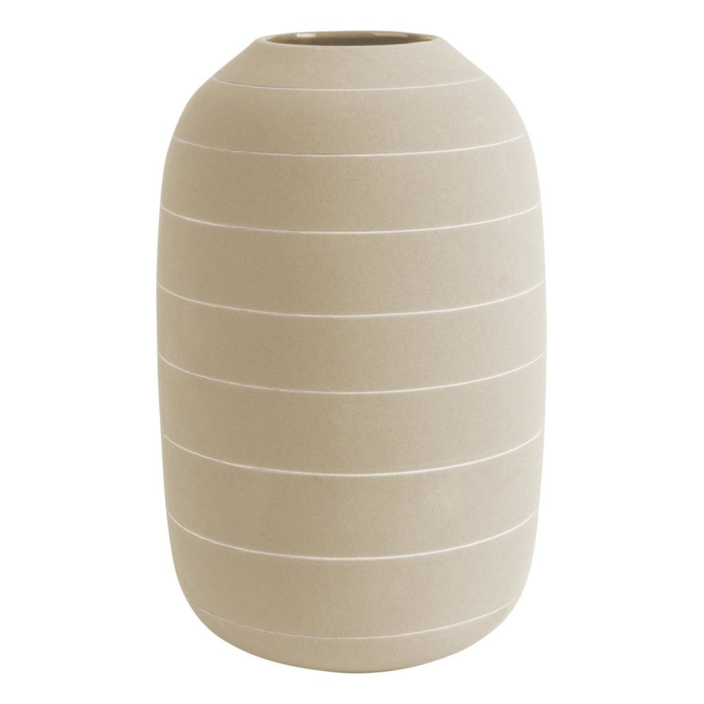 Vase blanc et céramique -