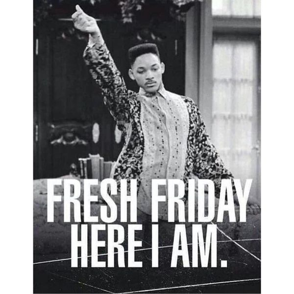 Fresh friday here i am
