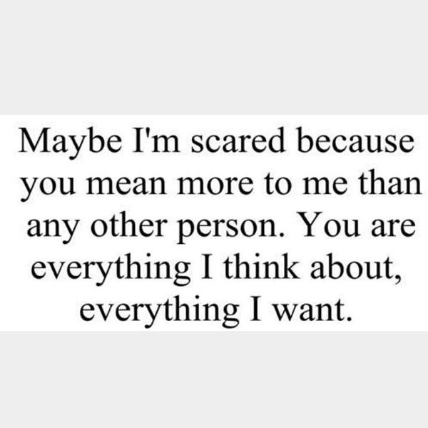 Marvelous You are My Everything Quotes for Her